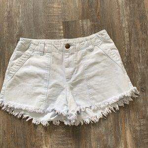 🌻3/20 Rip curl High waisted cute blue shorts